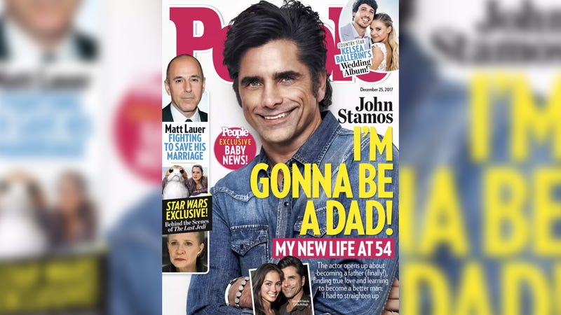 John Stamos to be a dad