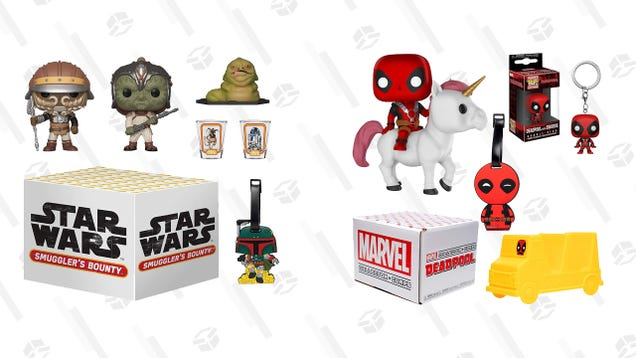 These Star Wars and Marvel Funko Boxes Have a Handful of Collectibles for $10 Each