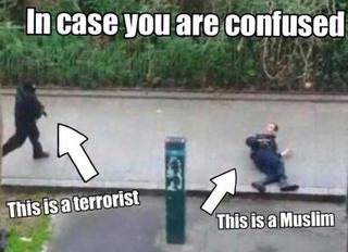 Illustration for article titled A különbség egy terrorista és egy muszlim között