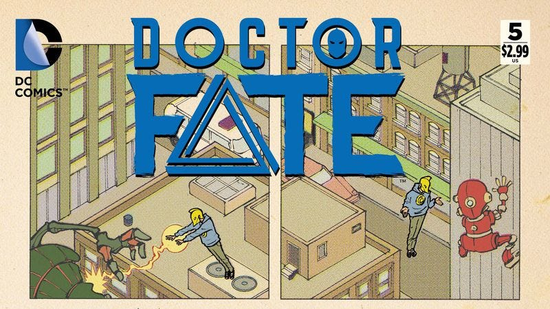 Illustration for article titled Exclusive DC preview: Diversity on and off the page elevates Dr. Fate