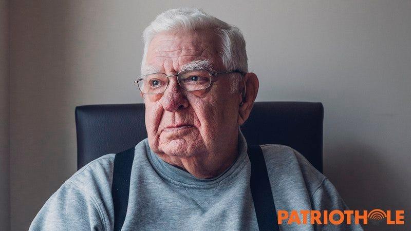 An old man.