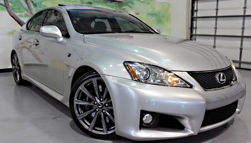 Illustration for article titled Why Buy A Toyota Camry When You Can Get This Lexus IS-F For Less?