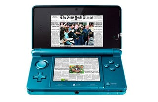 Illustration for article titled Nintendo 3DS Might Be Used For Newspapers, Magazines Too