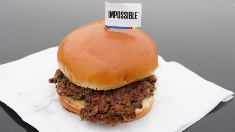 The Impossible Burger, seen here at Stella's Bar & Grill in Bellevue, Nebraska.