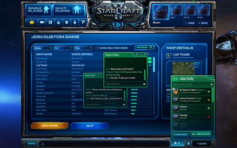 Starcraft 2 matchmaking screen not loading