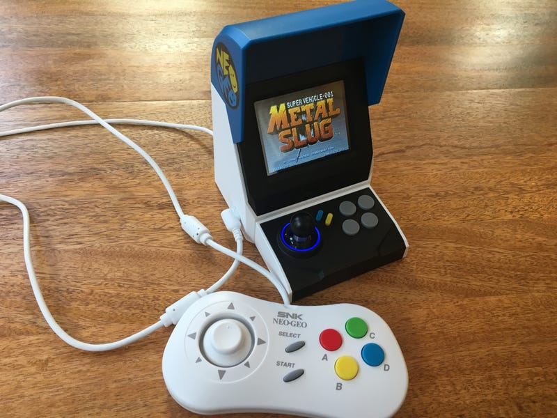 Neo Geo Mini Is Cute, But An Imperfect Nostalgia Trip