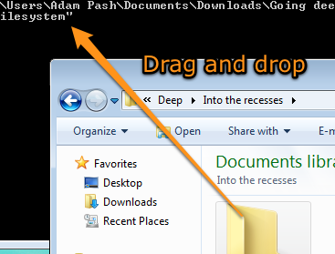 Illustration for article titled Quickly Copy File Paths to Your Command Prompt via Drag and Drop