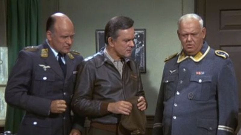 Hogan's Heroes' unceremonious finale comes from the era