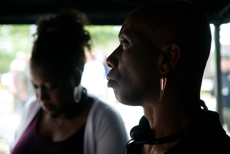 Felicia D. Henderson and Charles Holland, Executive Producers of The Quad (Felicia D. Henderson)
