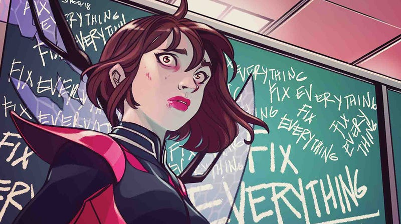 Illustration for article titled The New Unstoppable Wasp Gives Nadia a Problem She Can't Solve Alone: Bipolar Disorder