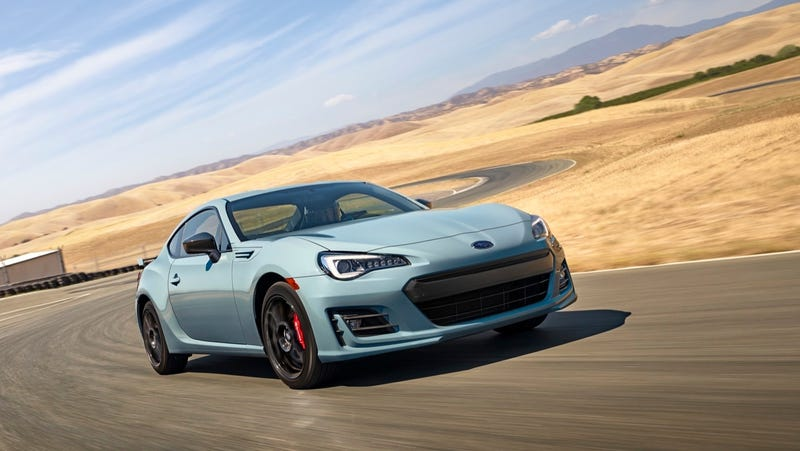 Illustration for article titled 2019 Subaru BRZ Gets 300 HP Turbo Engine—Wait, No, Sorry, Just This Gray Color