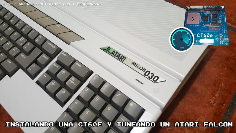Illustration for article titled Instalando una CT60e y tuneando un Atari Falcon