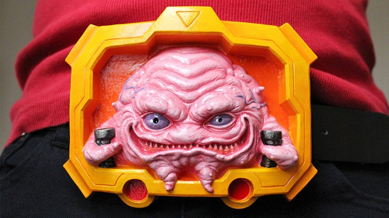 Illustration for article titled This Amazing Krang Belt Buckle Is For Serious TMNT Cosplayers Only