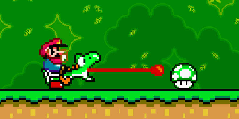 Illustration for article titled Hero Player Dunks On Mario Maker Troll, Saves All The Yoshi