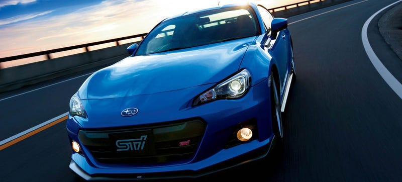 Illustration for article titled No, A Subaru BRZ STI Is Not Happening