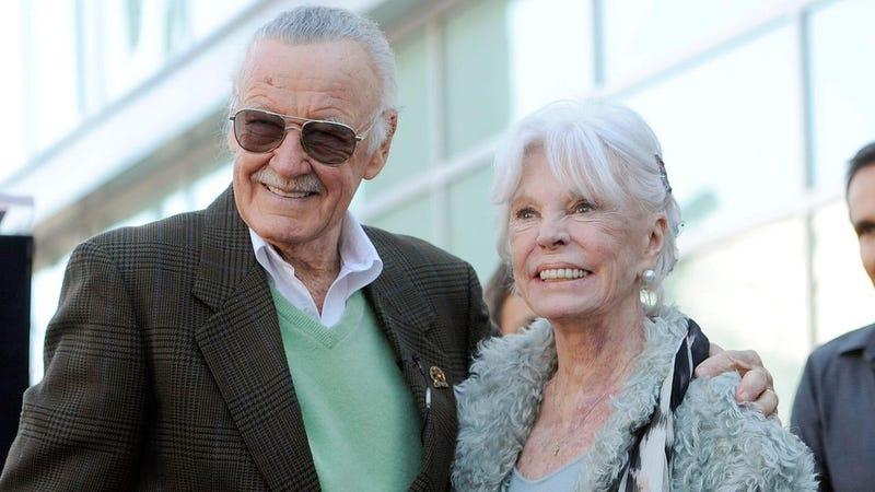 Illustration for article titled 'Marvel muse' Joan Lee dies, aged 93