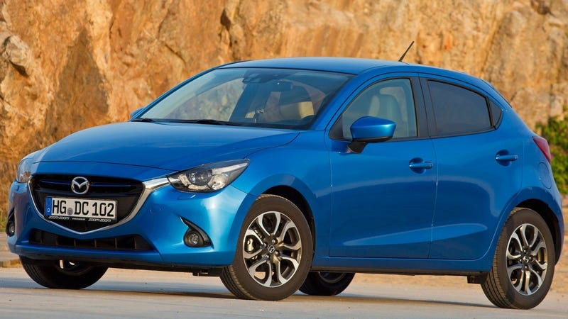 Illustration for article titled Here Is How You Can Legally Own A Mazda 2 Hatchback In The Mainland U.S.