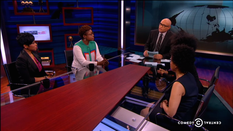 Illustration for article titled The Nightly Show's Panel of Black Women Responds to Patricia Arquette