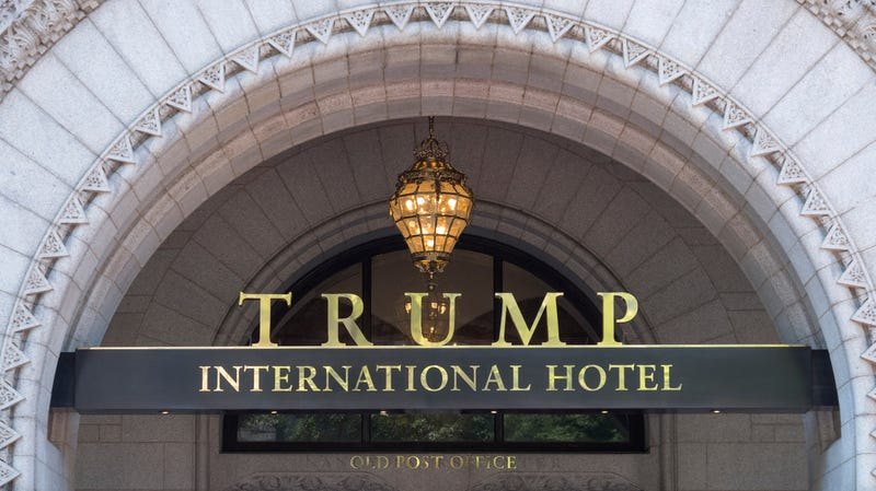 """Illustration for article titled Group urges repeal of Trump hotel liquor license for lack of """"good character"""""""
