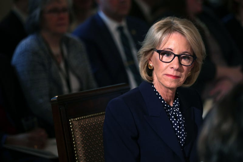 Illustration for article titled Betsy DeVos Is Now the 2nd Worst Person in the Trump Administration After Defending Nearly $18 Million In Cuts to Special Olympics
