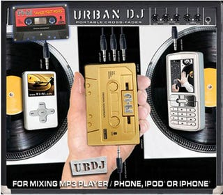 Illustration for article titled Portable Cross Fadin' Cassette Will Make All Your Spontaneous DJ Dreams Come True