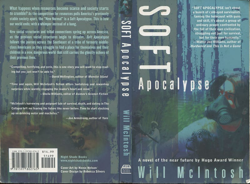 Illustration for article titled Get Will McIntosh's Debut Novel Soft Apocalypse For Only 99 Cents!