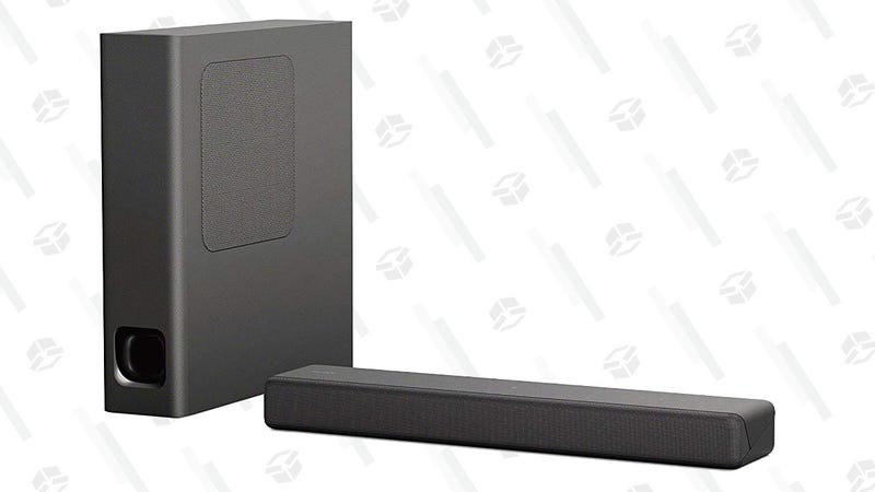 Sony HT-MT300/B Powerful Mini Sound bar with Wireless Subwoofer | $198 | Amazon