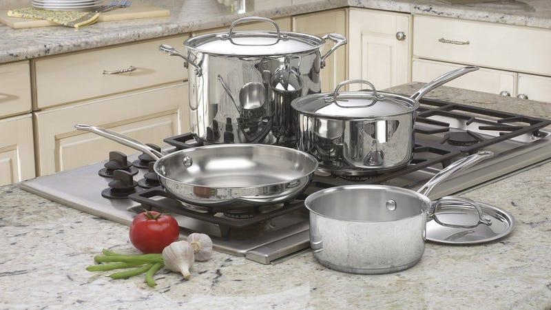 Cuisinart 7-Piece Chef's Classic Cookware Set | $66 | Amazon