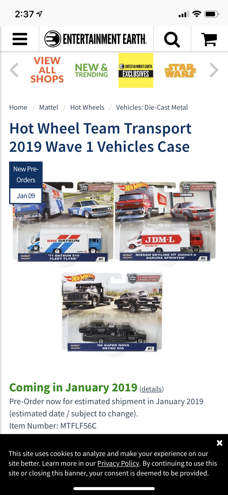 Illustration for article titled Team Transport Wave 3 up for preorder