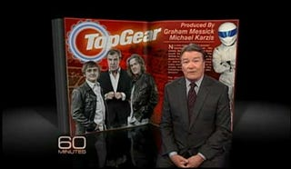 Illustration for article titled Top Gear On 60 Minutes: What You Didn't See