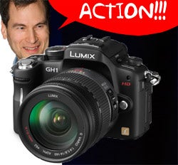 Illustration for article titled Pogue Says Panasonic's Pseudo-SLR GH1 Makes a Great HD Camcorder