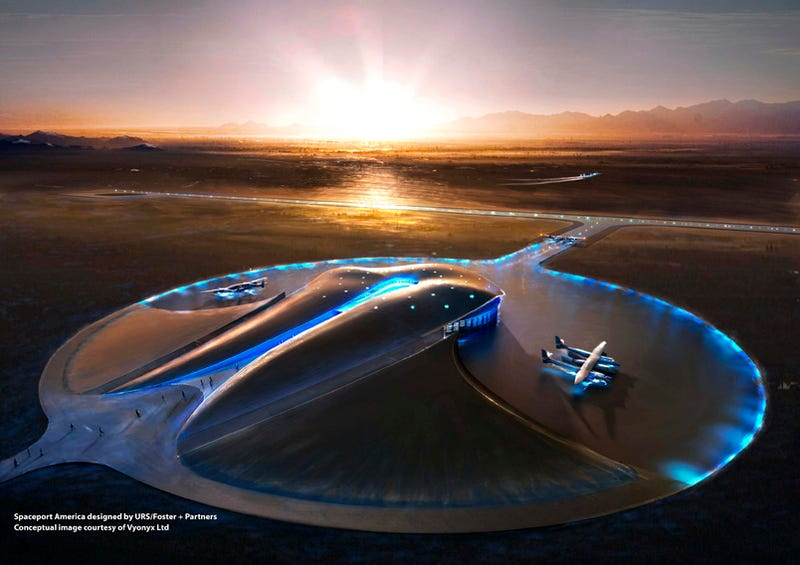 Illustration for article titled First Spaceport Ever Begins Construction this Friday