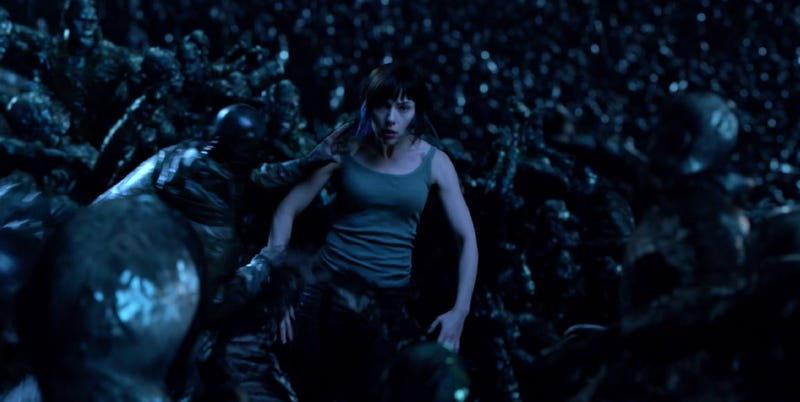 Inside another mind is not a good place for the Major in Ghost in the Shell. Image: Paramount