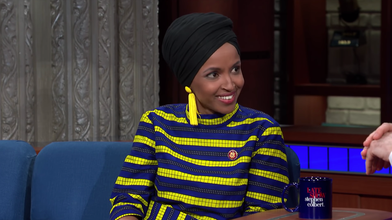 Illustration for article titled Ilhan Omar Says She's Not In Congress to Be Quiet