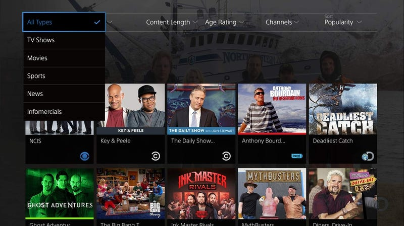 Illustration for article titled Sony's PlayStation Vue Wants to Replace Your Cable Box