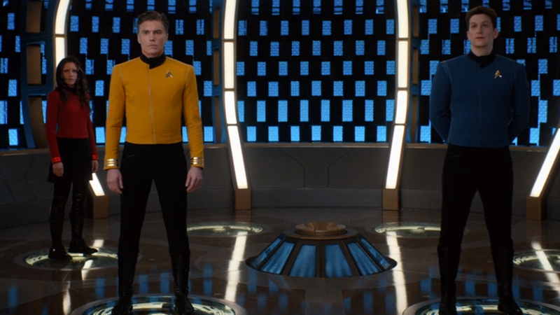 Captain Pike and his crew may have got some swanky new threads, but they almost weren't quite as accurate to Trek lore as they're meant to be.