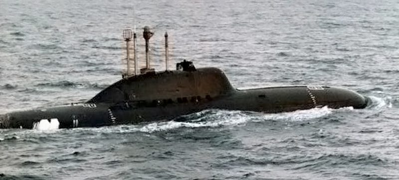 Illustration for article titled Russia's Alfa Class Was The Terrifying Hot Rod Sub Of The Cold War