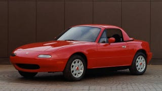 Illustration for article titled The Miata was nearly a front-wheel-drive disaster