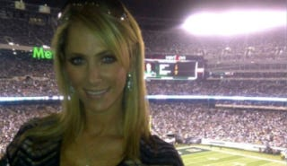 Illustration for article titled Ines Sainz Wanted Everyone To Know She Was At The Jets Game Last Night