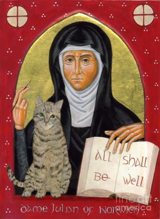 Illustration for article titled Getting Medieval On You: Julian of Norwich