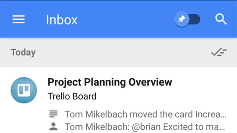 Inbox by Gmail Now Integrates Google Alerts, Trello, and GitHub ...