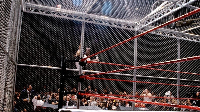 Mankind takes *the* fall at King of the Ring 1998.