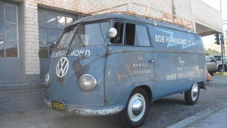 Illustration for article titled Rare 1955 Volkswagen Bus is the oldest of its kind