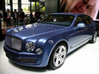 Illustration for article titled Bentley Mulsanne: The V8-Powered Grand Bentley