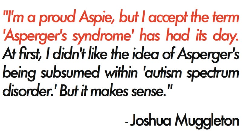 Illustration for article titled It's official: 'Asperger's syndrome' is no longer a thing