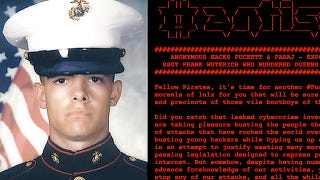 Illustration for article titled Anonymous Leaks Marine Corps Massacre Case (Updated)