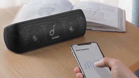 Anker Soundcore Motion+ Bluetooth Speaker | $80 | Amazon