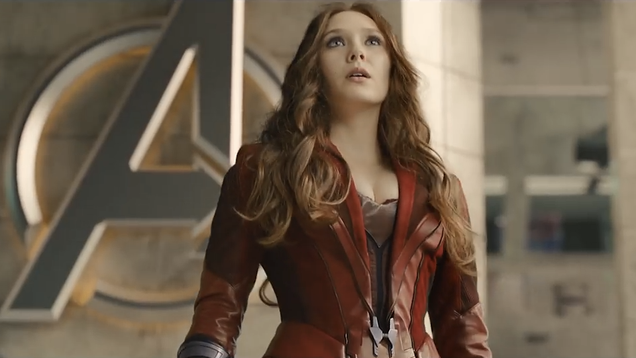Elizabeth Olsen Thinks Scarlet Witch Needs a New Costume, and She s Right