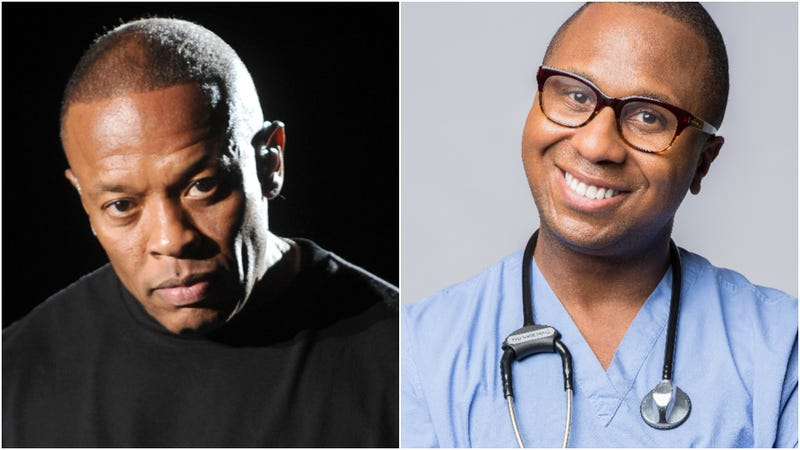Dr. Dre (L) and Dr. Drai (R)