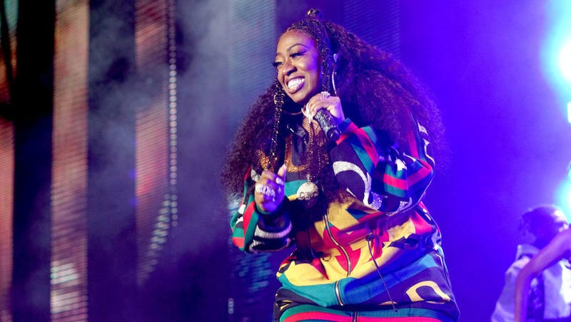 Missy Elliott, who could probably out-produce whatever Joe Schmos these labels are bringing in